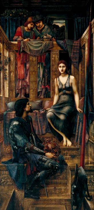 King Cophetua and the Beggar Maid 1884 Sir Edward Coley Burne-Jones, Bt 1833-1898 Presented by subscribers 1900 http://www.tate.org.uk/art/work/N01771
