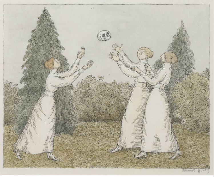 Edward Gorey _ A Dull Afternoon